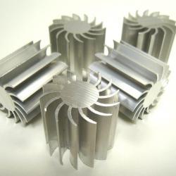 Охладител - радиатор за електронни компоненти, алуминиев