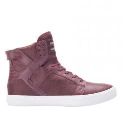 Намалени Обувки Supra Skytop Бордо