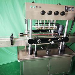 Автоматична затваряща машина за пластмасови капачки с елеватор