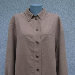 4XL Нова риза от велур Delmod