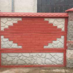 Декоративни бетонови огради