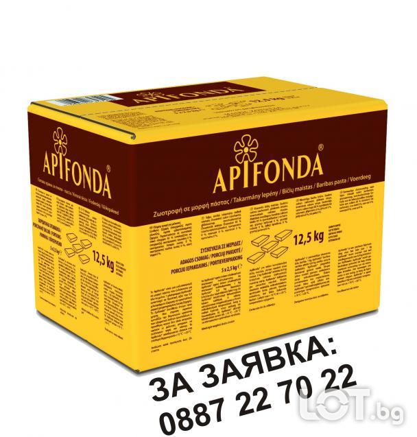 Промоция Храна за Пчели Апифонда Апи Фонда Apifonda - Германия 5х2,5..