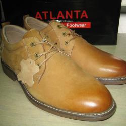 Мъжки обувки естествена кожа м. 9833 камел