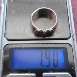сребърен пръстен - дамски - 7,9 гр., 925 проба - Красота