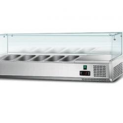 Хладилна витрина с вместимост 5 съда по GN 1 4 150 mm