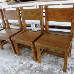 Обзавеждане за заведения - дървени маси и столове, пейки