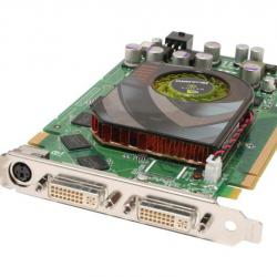 Професионална видеокарта Nvidia Quadro Fx3500, 256mb Gddr3, 256bit, pc
