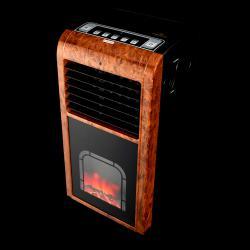 Flamotto Gold 4в1 Подвижен Уред - Климатик Йонизатор Овлажнител Камина
