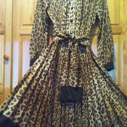 Дамска елегантна рокля произведена в Англия
