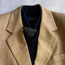 Мъжки костюм Apolon Classic, елек, риза и вратовръзка комплект