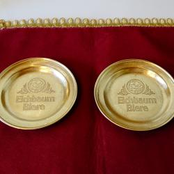 Бронзова чиния Eichbaum Biere.