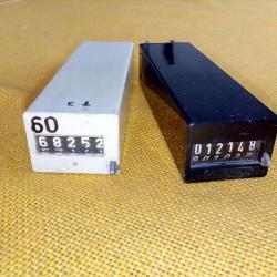 Електромеханични броячи