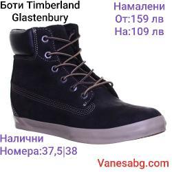 Ликвидация Дамски боти Timberland Черно от 37.5 до 41 номер