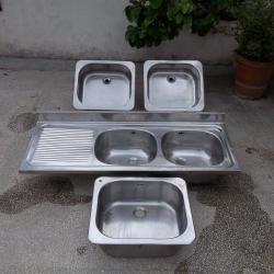 Мивка мивки инокс алпака неръждавейка двойна единична по БДС