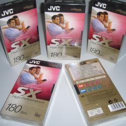 Видеокасета VHS video JVC SX 180 High Quality