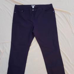 3XL Нови дънки H&M в тъмно лилаво