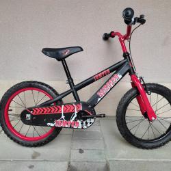 Продавам колела внос от Германия детски велосипед Scirocco Jumper 16