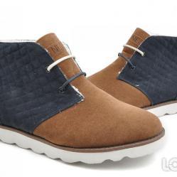 Ликвидация  Мъжки Боти Adidas Neo Desert Chill Кафяво Синьо